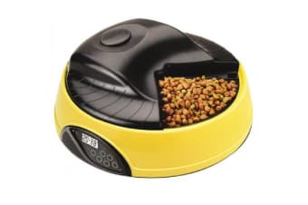 Automatic 4 Tray Pet Feeder LCD Display