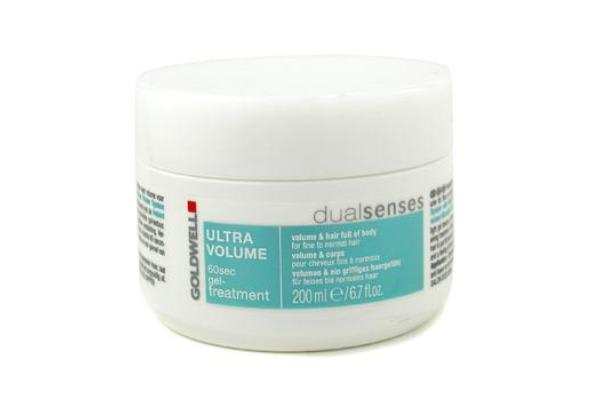 Goldwell Dual Senses Ultra Volume 60 Sec Gel-Treatment (For Fine to Normal Hair) (200ml/6.7oz)