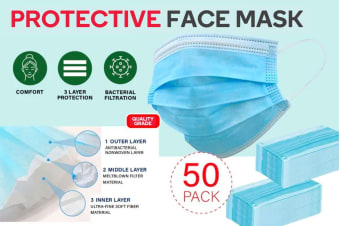 3 Ply Disposable Mask (50 Pack)