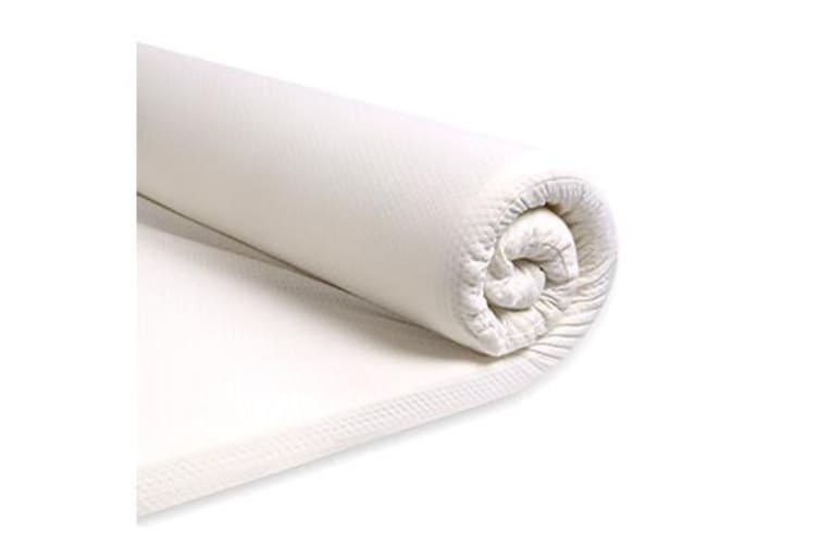 High Density Memory Foam Mattress Topper With Polyester Cover KING SINGLE SIZE