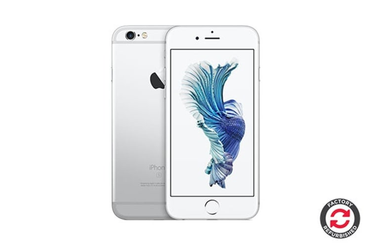 Apple iPhone 6s Refurbished (16GB, Silver) - A Grade