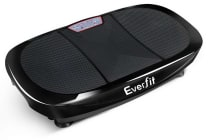 1200W Double Motor & 4D Shake Vibration Exercise Platform (Black)