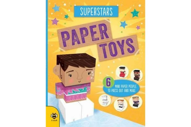 Paper Toys - Superstars - Six mini paper people to press out and make