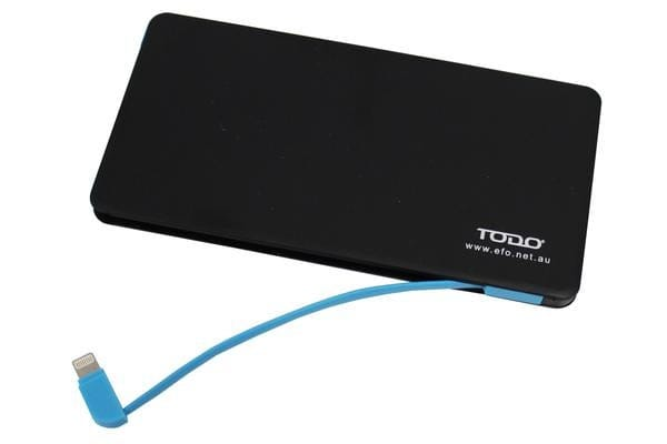 TODO 4800Mah Ultra Thin Power Bank Mobile Phone Usb Iphone Charger
