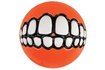 Rogz Grinz Ball Orange - Small