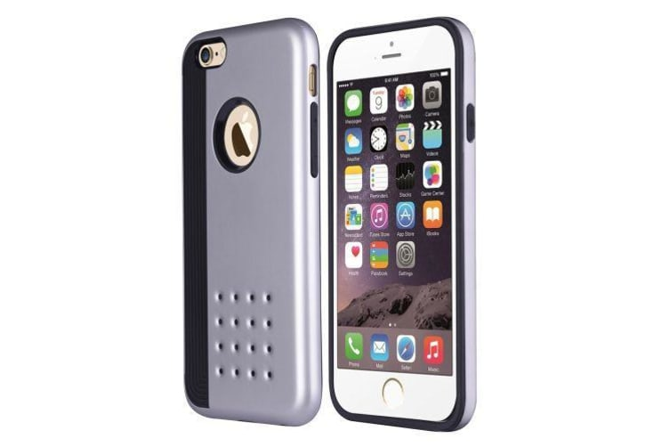 promo code d1ecd 42084 For iPhone 6S PLUS 6 PLUS Case Cookie Armour Durable Shielding Cover Silver