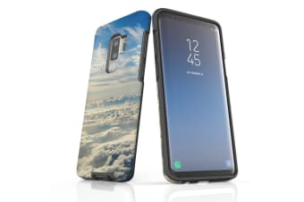 For Samsung Galaxy S9+ Plus Case Armour Cover  Clouds above the Sky