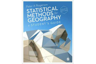 Statistical Methods for Geography - A Student's Guide