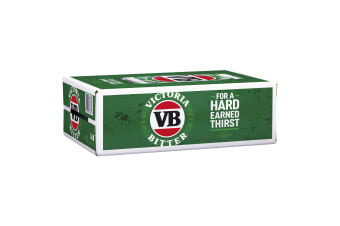 Victoria Bitter Beer 24 x 375mL Cans (Free Shipping)