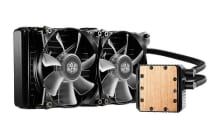 Coolermaster Seidon 240P Blue LED Multi-Socket CPU Cooler 2x Blue Jetflo LED Fan, 240mm Radiator
