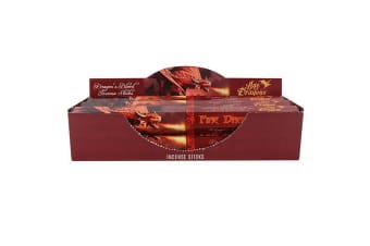 Age Of Dragons Fire Dragon Incense Sticks (6 Packs Of 20) (Red)