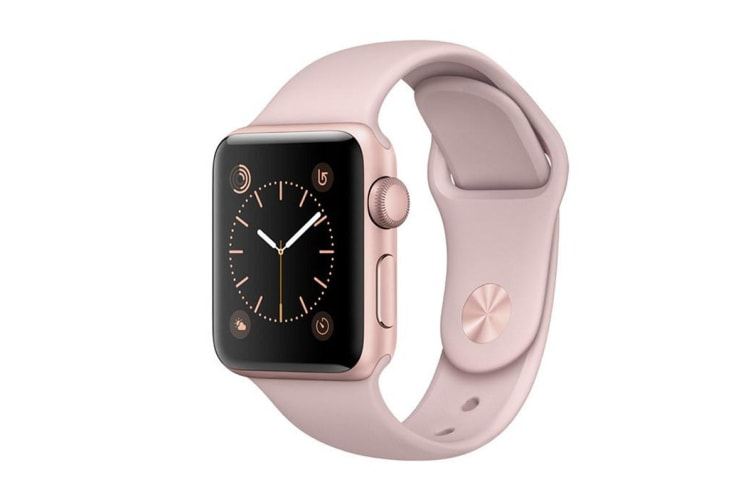 Apple Watch Series 3 (Gold, 38mm, Pink Sand Sport Band, GPS Only)
