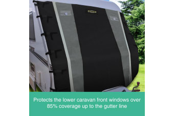 220 x 192cm Caravan Front Cover Towing Protector
