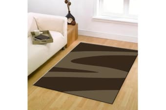 Swish Modern Rug Brown