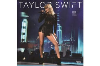 Taylor Swift 2019 Square Wall Calendar