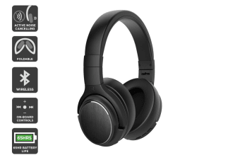 Kogan EC-65 Wireless Active Noise Cancelling Headphones