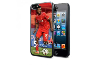 Liverpool FC iPhone 5/5S/5SE Sturridge 3D Hard Case (Multicoloured) (One Size)