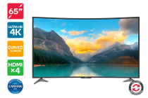 "Refurbished Kogan 65"" Curved 4K LED TV (Series 9 MU9500)"
