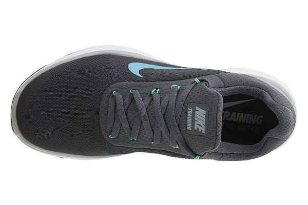 Nike Men's Free Trainer V7 Shoe (Dark Grey/Wolf Grey/Blue Fury, Size 12.5)