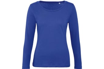 B&C Womens/Ladies Inspire Long Sleeve Tee (Cobalt Blue)