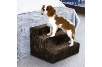 31cm Doggy Steps Stairs Ladder - Dark Brown