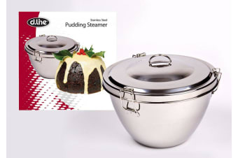 D.Line Stainless Steel Pudding Steamer 2L