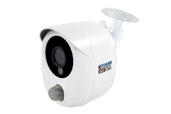 KGUARD KGUARD WS820A 1080P Security Camera with Smoke Detector - Compatible with HD Series