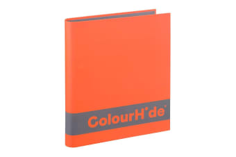 ColourHide A4 25mm 200 Sheets Silky Touch Ring Binder/Folder File Organiser OR