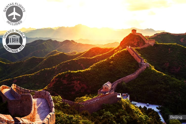 CHINA: 10 Day China Tour Including Qantas Flights for One