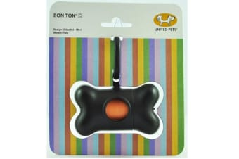 Bon Ton C Black Classic Poop Bag Holder