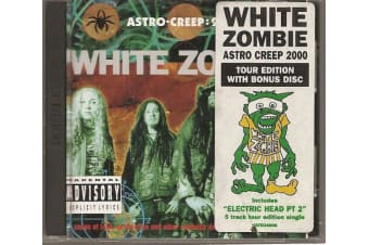 White Zombie Astro-Creep PRE-OWNED CD: DISC EXCELLENT