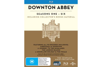 Downton Abbey The Complete Collection Blu-ray Region B