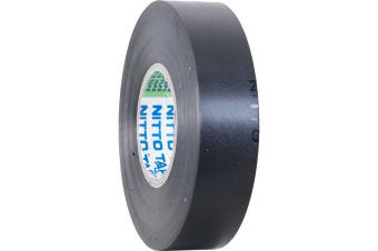 Black 20Mt Nitto Tape PVC Electrical Tape