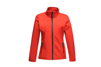 Regatta Professional Womens/Ladies Octagon II Waterproof Softshell Jacket (Classic Red/Black)
