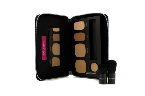 Bare Escentuals BareMinerals Ready To Go Complexion Perfection Palette - # R330 (For Tan Golden Skin Tones) (-)