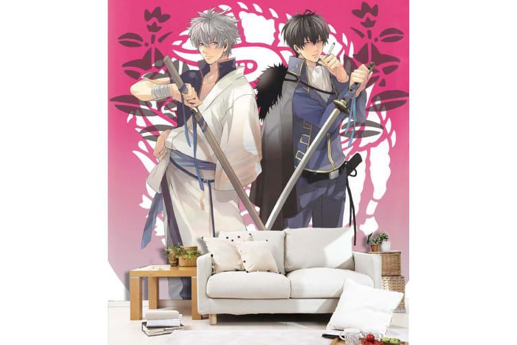 3D Handsome Guy Pulling Sword 47 Anime Wall Murals Self-adhesive Vinyl, XXXL 416cm x 254cm (WxH)(164''x100'')