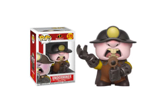 Incredibles 2 Underminer Pop! Vinyl