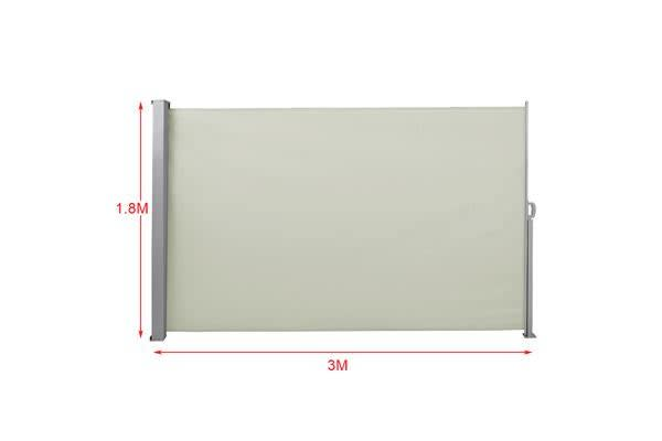 1.8X3M Retractable Side Awning Shade Screen Panel