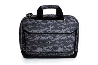 """Hedgren Link Hitch Camo 3-Way Briefcase/15"""" Laptop Carry Bag w/ RFID Protection"""