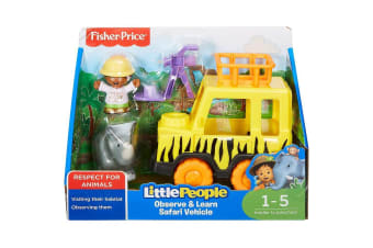 Fisher Price Little People Observe and Learn Small Safari Vehicle