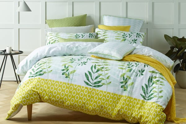 Bianca Tendril Quilt Cover Set (King)