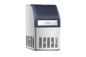 Devanti Commercial 10KG Ice Maker (Stainless Steel)