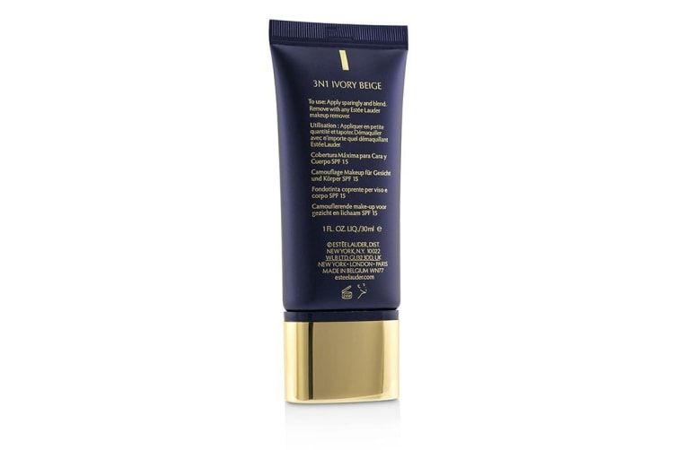 Estee Lauder Double Wear Maximum Cover Camouflage Make Up (Face & Body) SPF15 - #3N1 Ivory Beige 30ml/1oz