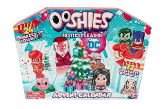 Ooshies Justice League Advent Calendar