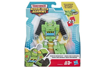 Transformers Rescue Bots Academy Boulder The Construction-Bot