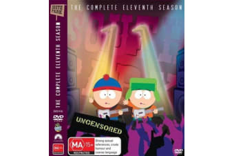 South Park : Season 11 (3-Disc Set) -Comedy Series Rare- Aus Stock Preowned DVD: DISC LIKE NEW