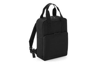 BagBase Twin Handle Backpack (Black) (One Size)