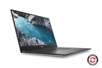 "Dell XPS 15 9570 15.6"" 4K Windows 10 Touch Screen Laptop (i7-8750H, GTX 1050 Ti, 16GB RAM, 512GB SSD, Silver) - Certified Refurbished"