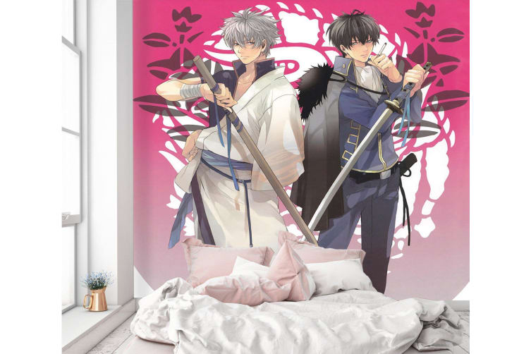 3D Handsome Guy Pulling Sword 47 Anime Wall Murals Self-adhesive Vinyl, XXL 312cm x 219cm (WxH)(123''x87'')