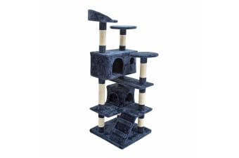 Cat Tree Scratcher SOHO 130cm - BLUE